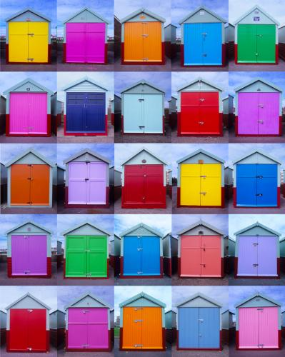 Brighton & Hoves Seafront and Beach Huts